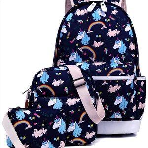 3 in 1 school Backpack